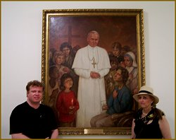Pope John Paul II portrait