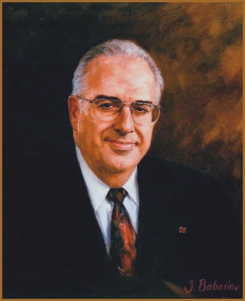 Portrait of Andre Berard, president of the National Bank of Canada, by Igor Babailov