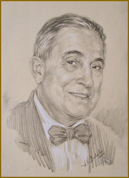 Portrait of Bill Gallo by Igor Babailov