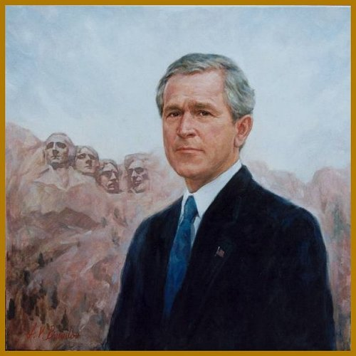 Official Portrait Of President George W Bush By Igor Babailov