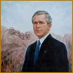 Portrait of President George W. Bush, by Igor Babailov