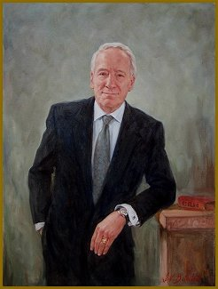 Portrait of Gerald Gramer, CRM, by Igor Babailov