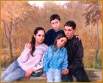 De Fabo family, Pittsburgh, PA - Portraits of Children by Igor Babailov