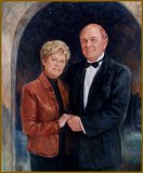 Portrait of Mr. & Mrs. Randal Doerter, Tennessee, by Igor Babailov