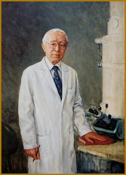 Portrait of Dr. Robert Kimura, leading US researcher of the Inner Ear, Boston Eye and Ear Infirmary