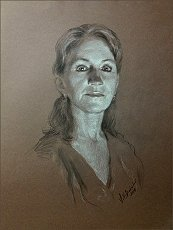 Lisa Balkon, drawing by Igor Babailov
