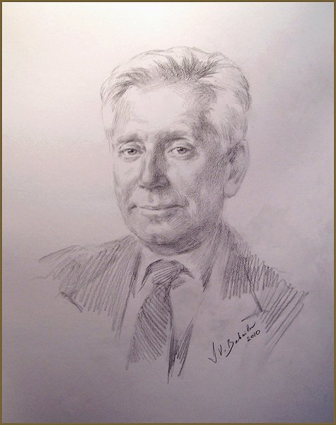 "Mr. Francis ""Frank"" Osborne, frmr. CFO of the SATRA CORP., portrait by Igor Babailov"