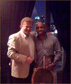 Tiki Barber and Artist Igor Babailov