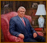 Portrait of Ted Lazenby, Kennedy Center - Advisory Board for the Arts ( Appointed by the President of the United States of America ),  by Igor Babailov