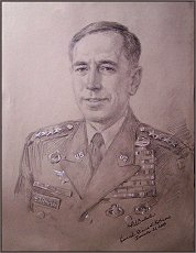Portrait of General David H. Petraeus, portrait by Igor Babailov