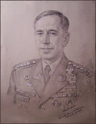 General David H. Petraeus - Life Portrait Study, by Igor Babailov