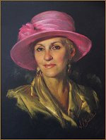 Mary - pastel portrait by Igor Babailov