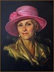 Portrait of Mary, Pastel portrait by Igor Babailov