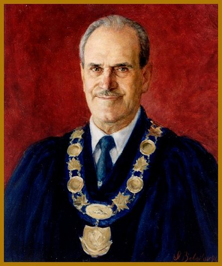 Portrait of Mayor A. Piroth, Picton, ON, by Igor Babailov