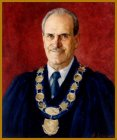 Official portrait of Mayor Al Piroth, Picton, ON, by Igor Babailov