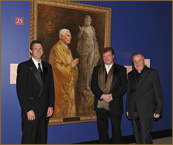 Portrait of Pope Benedict XVI by Igor Babailov, Vatican Splendors -
