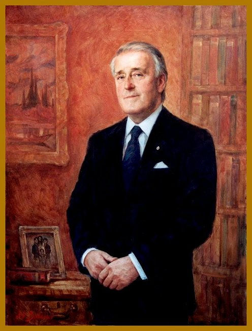 Prime Minister Brian Mulroney - official portrait, by Igor Babailov