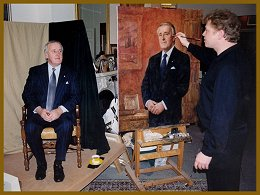 Portrait of Brian Mulroney - Official Portraits by Igor Babailov