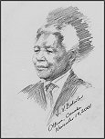 Portrait of Nelson Mandela, Official Commemorative Life Portrait, by Igor Babailov
