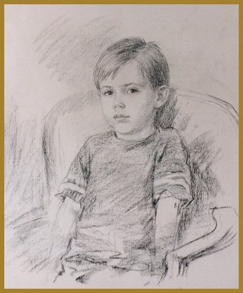 Nikita at 5, drawing by Igor Babailov