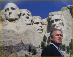George W. Bush - official White House photograph, after the portrait by Igor Babailov