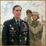 Portrait of General Petraeus, by Igor Babailov
