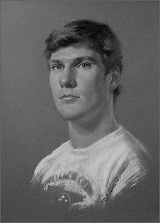 Pastel portrait demonstration by igor babailov