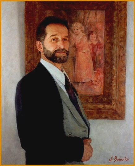 Corporate Portrait of Paul Dinkel, by Igor Babailov