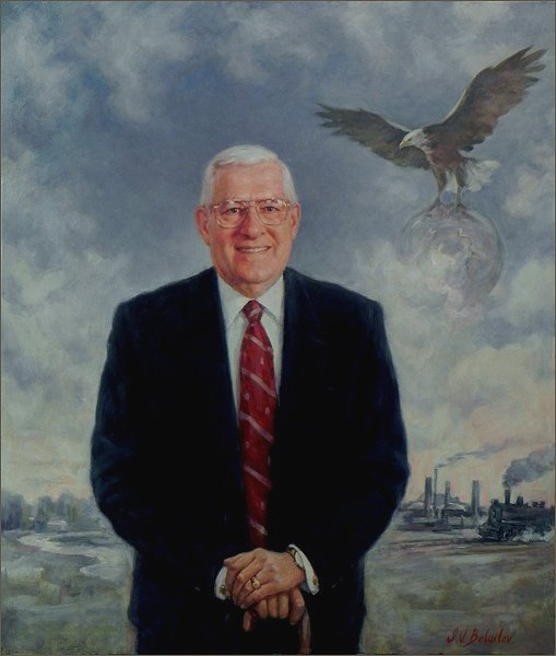 Portrait of Peter Johnson - Summitville Tiles, OHIO, Corporate Portrait by Igor Babailov
