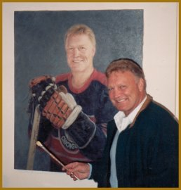 Portrait of Bobby Hull, by Igor Babailov