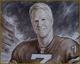 Portrait of Boomer Esiason, Football Legend, Sport portraits by Igor Babailov