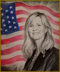 Portrait of Congressman Marsha Blackburn, US Congress, TN, Portraits by Igor Babailov