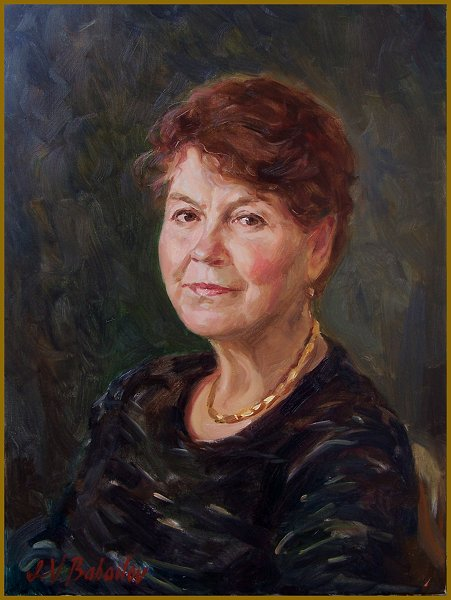 MAMA, portrait by Igor Babailov, Mother portraits