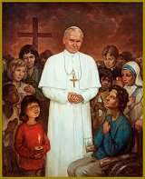 Portrait of Pope John Paul II, by Igor Babailov