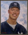 Portrait of Reggie Jackson, by Igor Babailov, pictures images