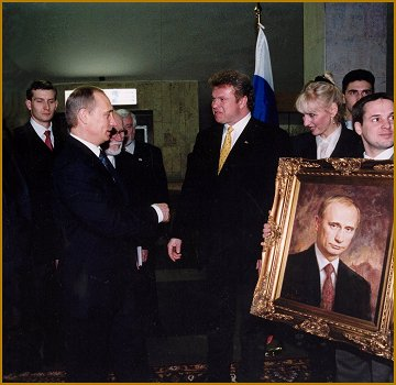 Official Portrait of President and Prime Minister of Russia, Vladimir Putin, by Igor Babailov
