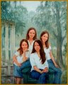 Daughters of Mr. and Mrs. Tim Ragen, Savannah, GA - Portraits of Family & Children by Igor Babailov