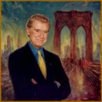 Portrait of Regis Philbin, by Igor Babailov. Featured on Regis and Kelly Show.