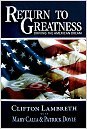 The Return to Greatness - Driving the American Dream, by Mary Calia