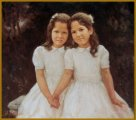 Rocha Twin Sisters, Coral Gables, FL - Portraits of Family & Children by Igor Babailov