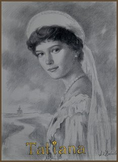 Portrait of Grand Duchess Tatiana, by Igor Babailov