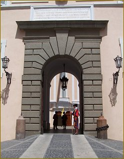 Igor Babailov, Entrance to the Apostolic Palace, Vatican