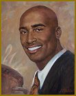 Portrait of Tiki Barber, Sport portraits by Igor Babailov