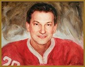 Official Portrait of Vladislav Tretiak, Hockey Legend, by Igor Babailov: Портрет Владислава Третьяка - вручен послом Канады в России от лица Канады и канадцев, художник Игорь Бабайлов