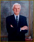 Portrait of Dr. Wayne Streilein, Harvard University Medical School, by Igor Babailov