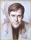 Portrait of Bob Costas, by Igor Babailov