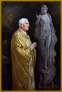 Official Portrait of Pope Benedict XVI, by Igor Babailov