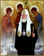 Portrait of Patriarch Kirill, by Igor Babailov
