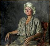 Portrait of Victoria Zharova, by Igor Babailov